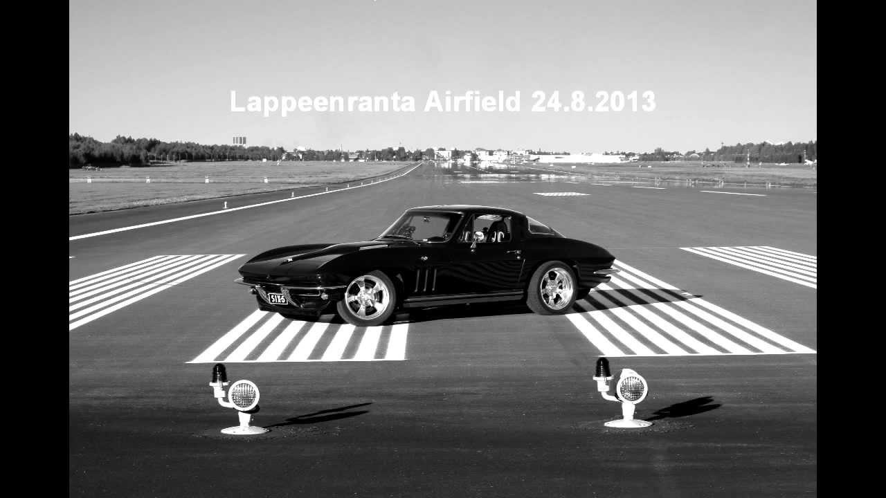 1965 Corvette C2 – World record attempt on standing mile to break 200mph