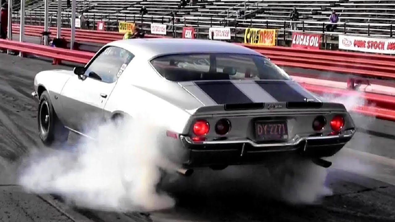 1965 Corvette (L79) vs 1970 Camaro Z28 (LT1) 1/4 Mile Drag Race