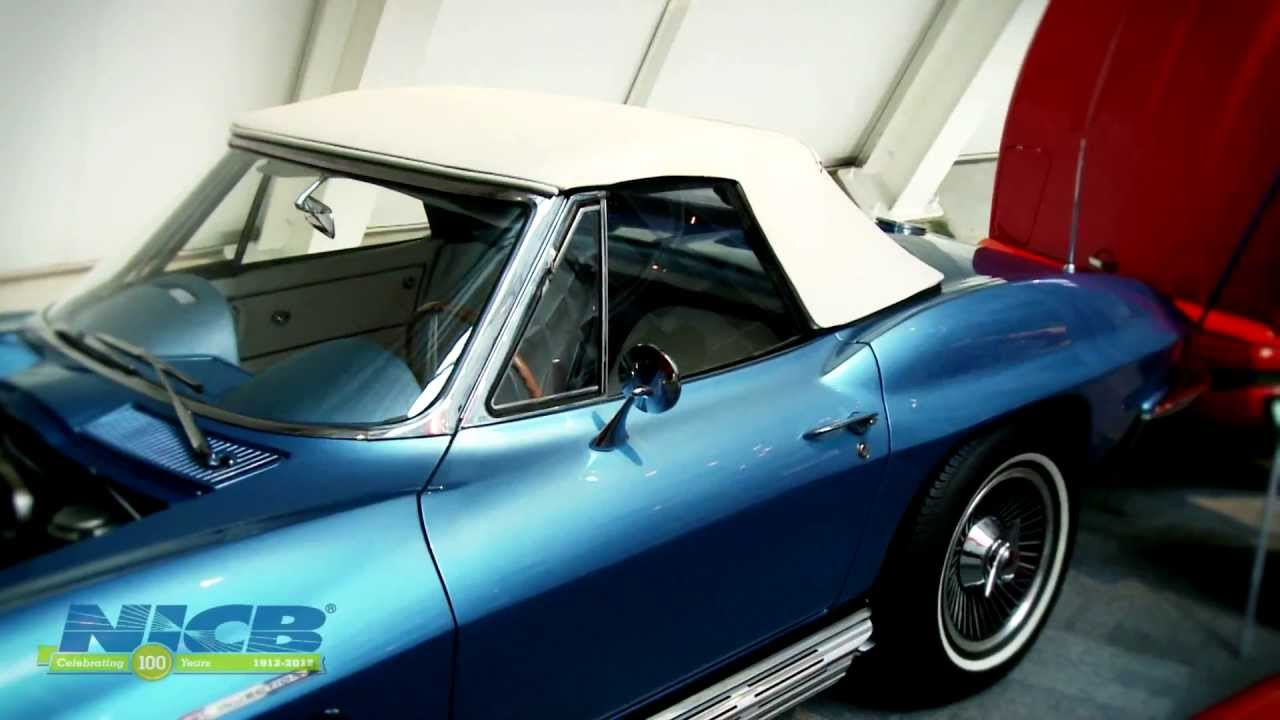 1965 Corvette Sting Ray Stolen & Recovered 39 Years Later – National Corvette Museum