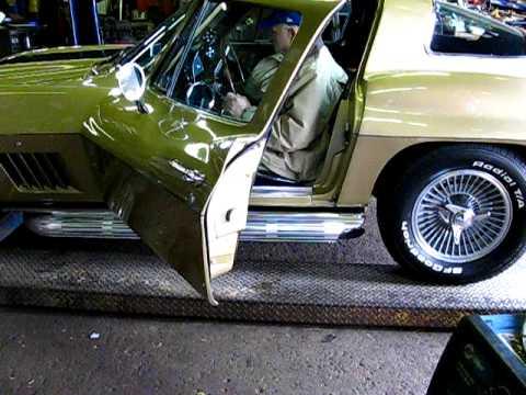 1967 Corvette 327 w/VettePack Sidepipe Mufflers
