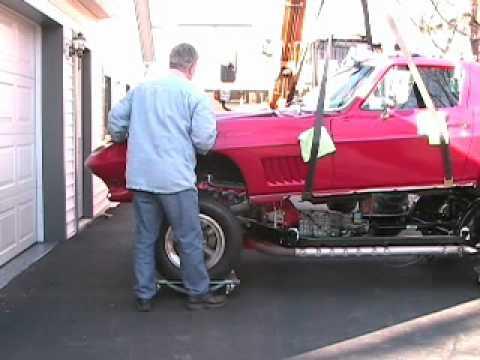 1967 Corvette Body Drop