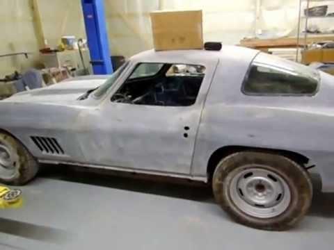 1967 Corvette fiberglass work