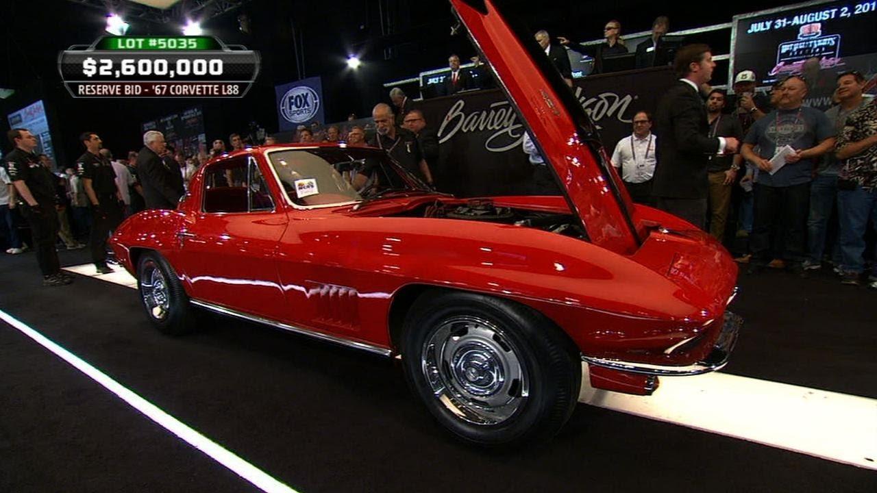 1967 Corvette L88 Sells for $3.5 Million at Barrett-Jackson Scottsdale