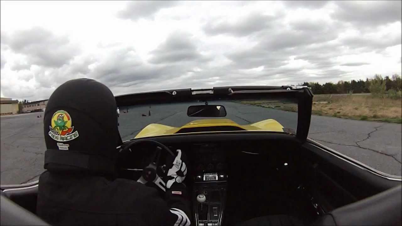 1969 Corvette – SCCA Autocross @ Fort Devens May,6 2012 (NER solo event #3)