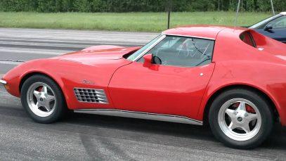 1971 Corvette 383 cui 450hp dragrace on Malmby Fairway