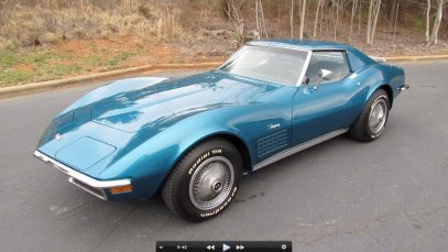 1972 Chevrolet Corvette 350 (C3) Start Up, Exhaust, and In Depth Tour