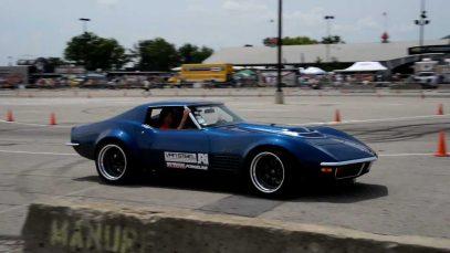 1972 Chevrolet Corvette at Goodguys PPG Nationals in Columbus. Ohio