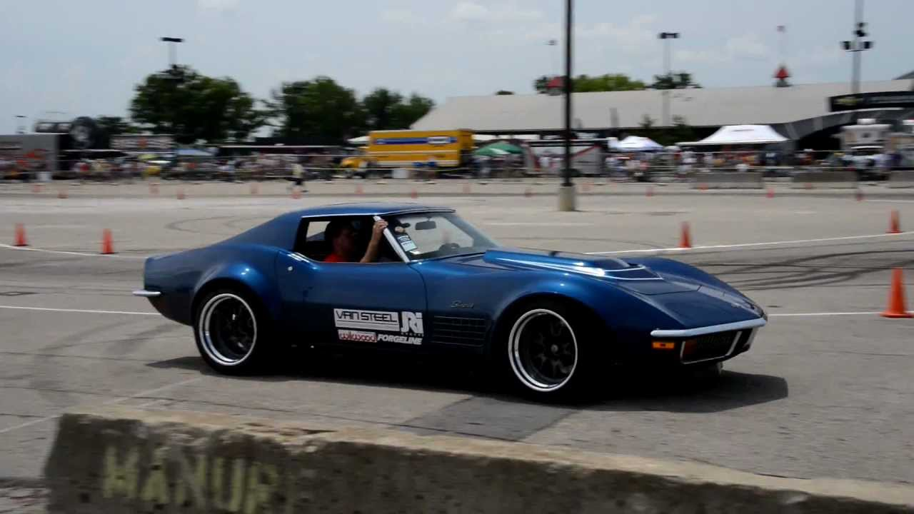 1972 Chevrolet Corvette at Goodguys PPG Nationals in Columbus. Ohio