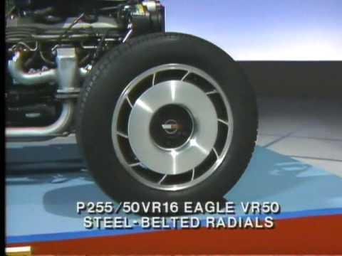 1984 C4 Corvette Chevrolet Engineering Video