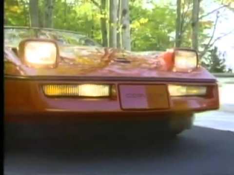 1984 Corvette Commercial
