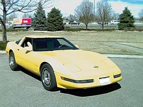 1986 Corvette C4 Roof Refinish / Repaint