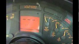 1990 – 1996 Corvette digital dash code retrieval and erasing procedure