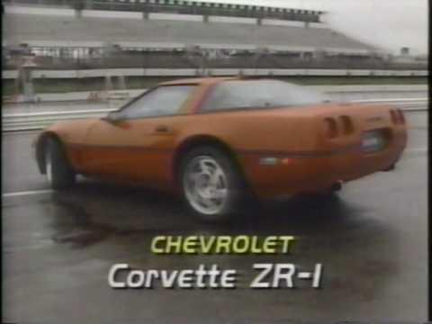 1990 Corvette ZR-1 and Callaway Corvette Road Test