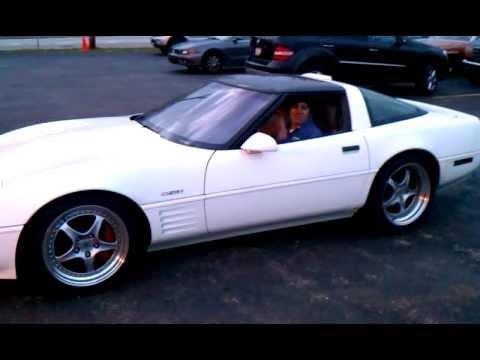 1991 Corvette ZR-1 with 441 stroker start-up & burnout