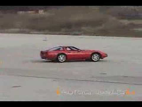 1991 ZR-1 Corvette Autocrossing at Pungo, VA