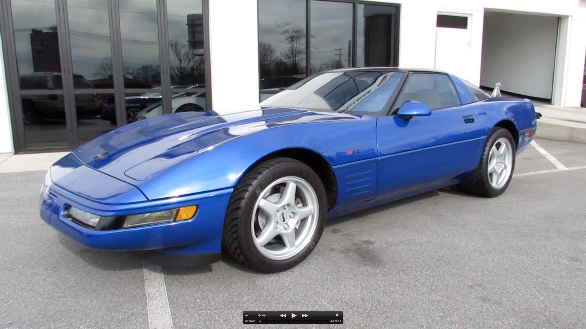 1994 Chevrolet Corvette ZR 1 Start Up Exhaust And In
