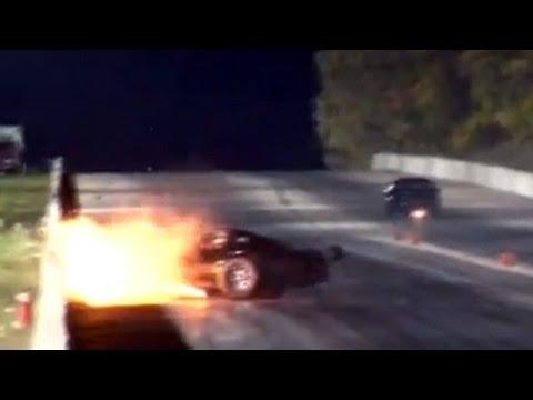 2000hp Corvette Wreck
