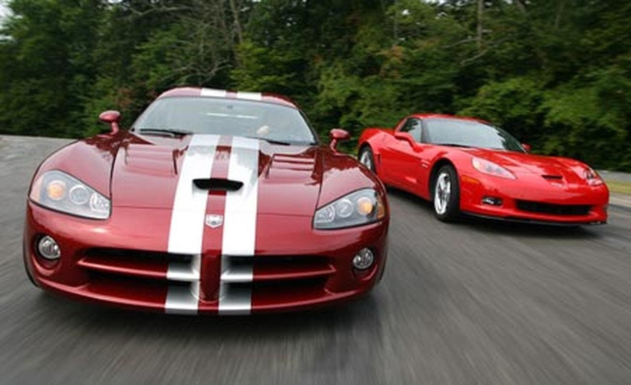 2008 Chevrolet Corvette Z06 vs. 2008 Dodge Viper – Comparison Test