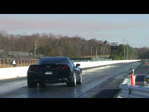 2008 Corvette Z06 11.027 @ 125.66 Stock tires 12/3/08