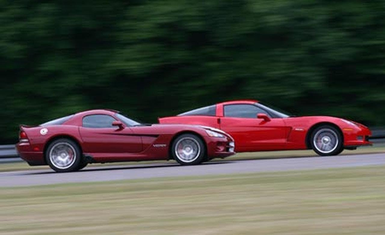 2008 Viper SRT10 vs. 2007 Corvette Z06: Behind the Scenes