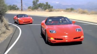 2011 Corvette Grand Sport vs. Modified C5 Corvette