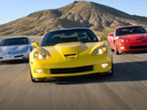 2011 Corvette Z06 Carbon vs. 2010 Grand Sport vs. 2002 Z06