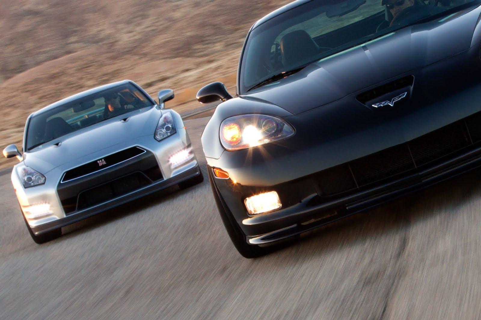2012 Chevrolet Corvette Z06 vs. 2013 Nissan GT-R Video — Inside Line