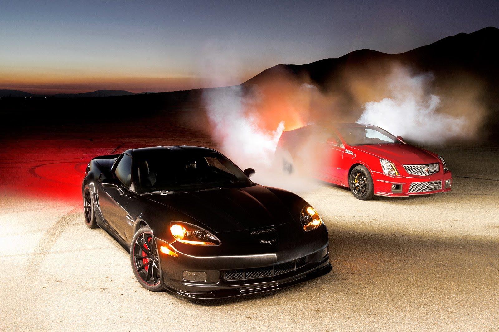 2012 Corvette Z06 Centennial Edition vs. Cadillac CTS-V Coupe