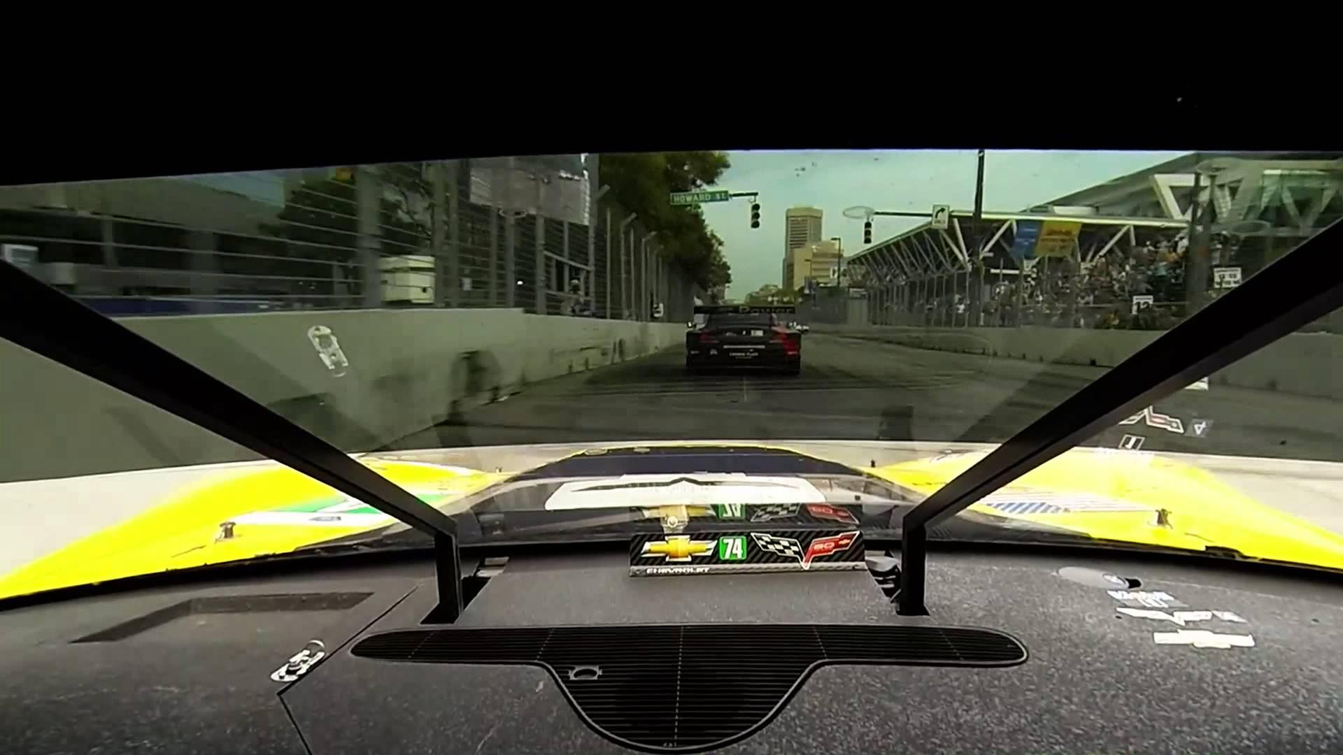 2013 Baltimore GP – Corvette Racing #4 In-Car – ALMS