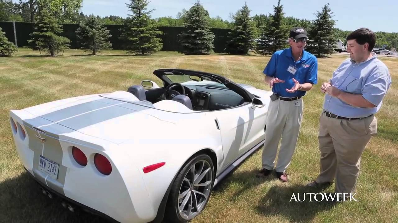 2013 Chevrolet Corvette 427 Convertible – Autoweek walk around
