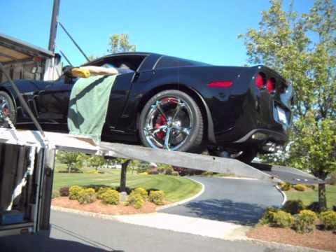 2013 Grand Sport Corvette Delivery