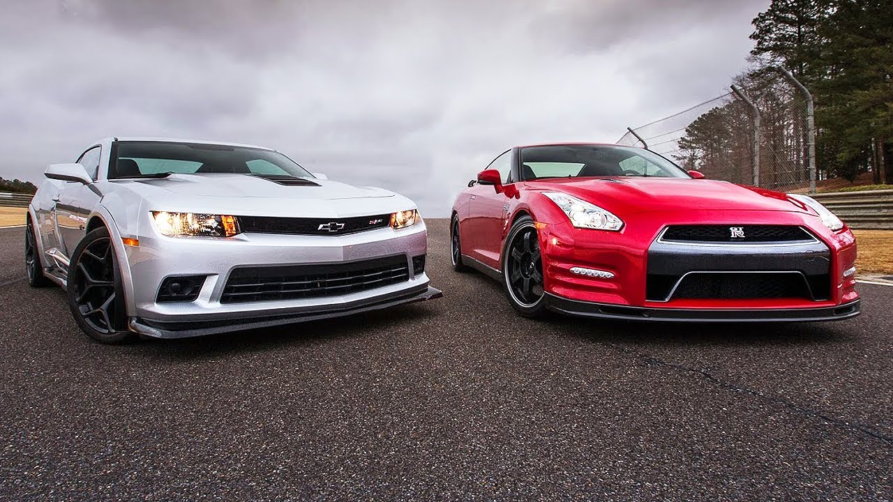 ford mustang gt vs nissan gtr with 2014 Chevrolet Camaro Z28 Vs 2014 Nissan Gt R Track Edition Head 2 Head Ep 52 on 8299 Anime Girls Short Hair Grey Gun Weapon Ford Mustang Car further 2016 Ford Mustang Shelby Gt350 Gt350r Test Review as well R35 Gtr besides Watch as well Nissan GTR New Colors.
