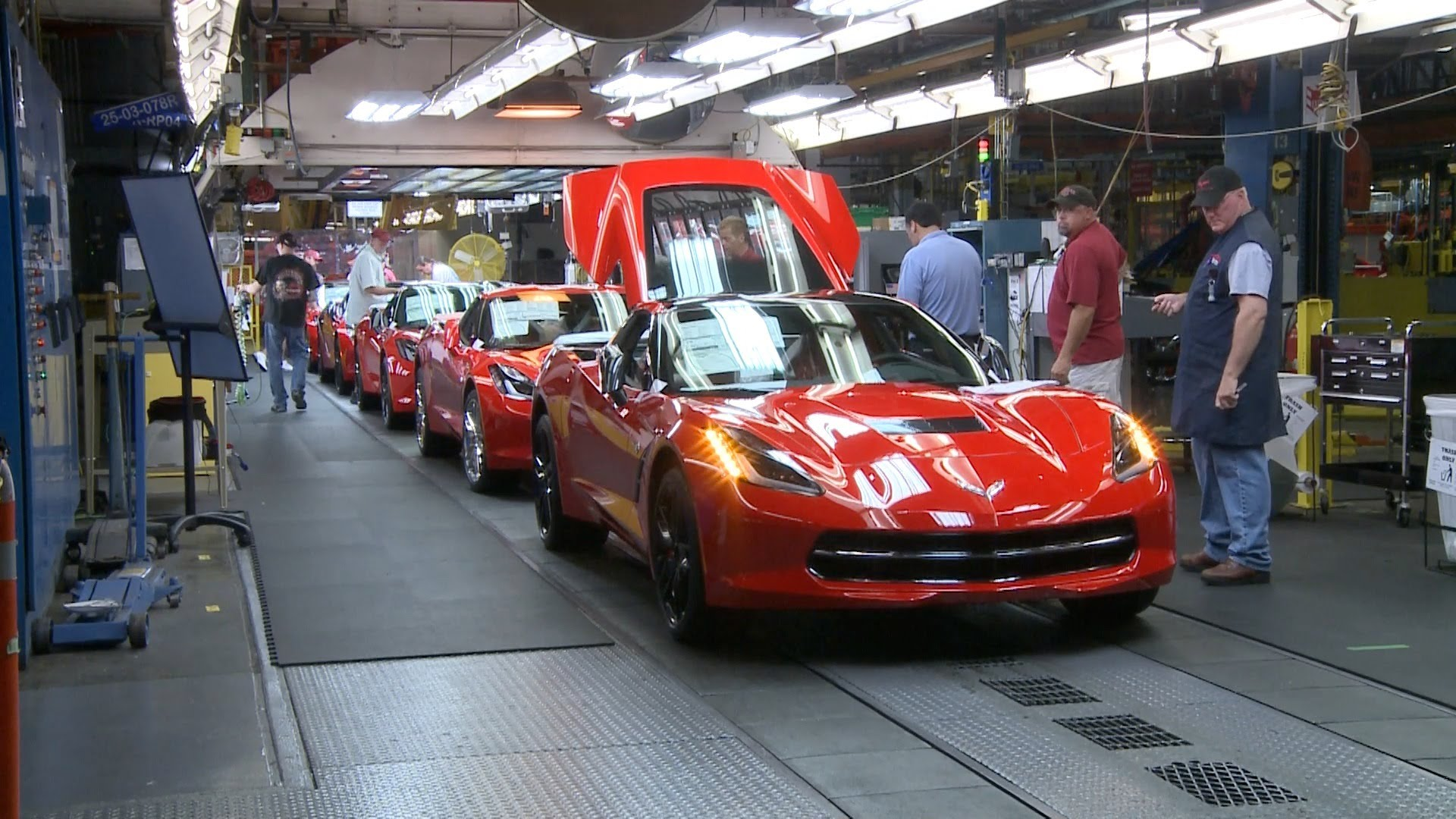 2014 Chevrolet Corvette Production