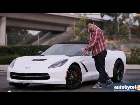 2014 Chevrolet Corvette Stingray Convertible Test Drive Video Review
