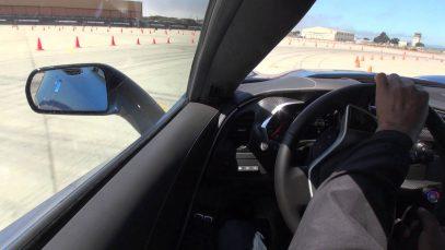 2014 Corvette Stingray autocross test