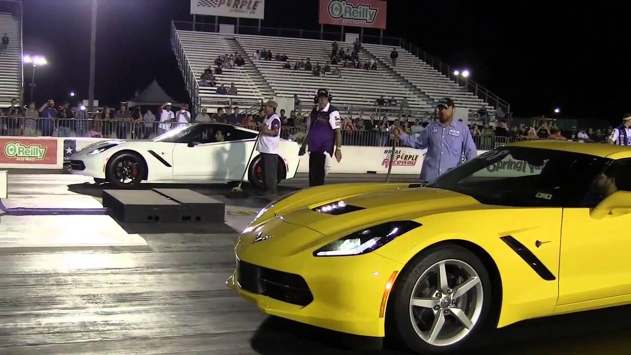 2014 Corvette Stingray C7 Race at Royal Purple Raceway