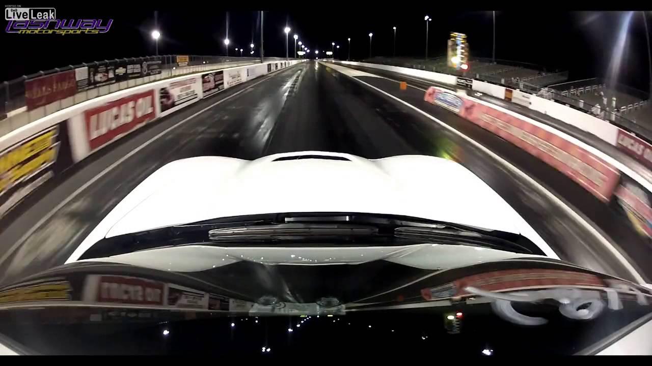 2014 Corvette Stingray  First quarter mile run outside of GM testing