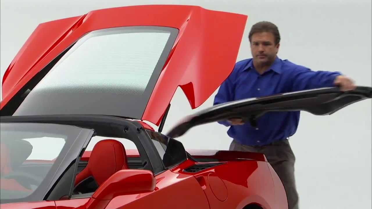 2014 Corvette Stingray Roof Panel Removal