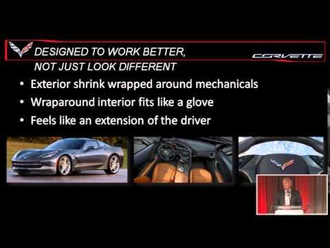 2014 Corvette Vehicle Event – SAE Detroit