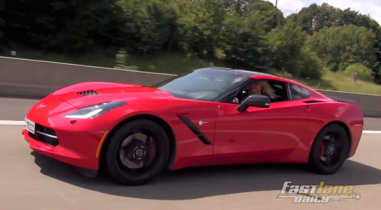 2015 Chevrolet Corvette Stingray in Germany – Fast Lane Daily