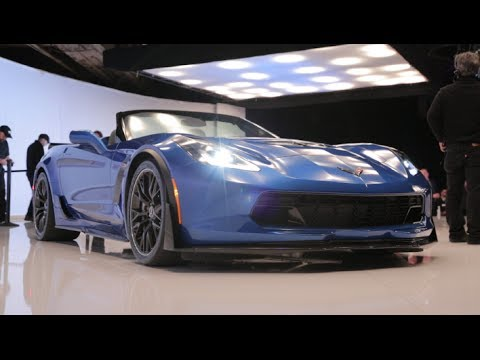 2015 Chevrolet Corvette Z06 Convertible – New York Auto Show