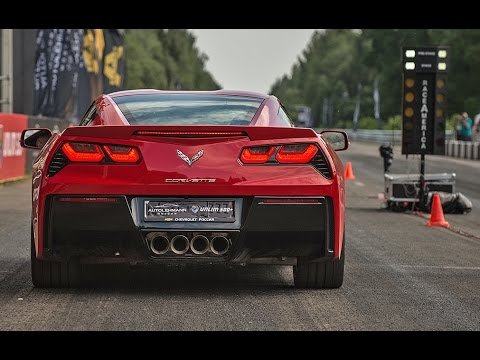 2015 Corvette Stingray vs Chevrolet Camaro ZL1 vs BMW M6 vs Jaguar F-Type R