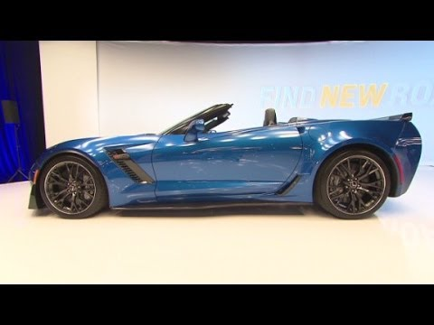 2015 Corvette Z06 Convertible: A fast drop-top
