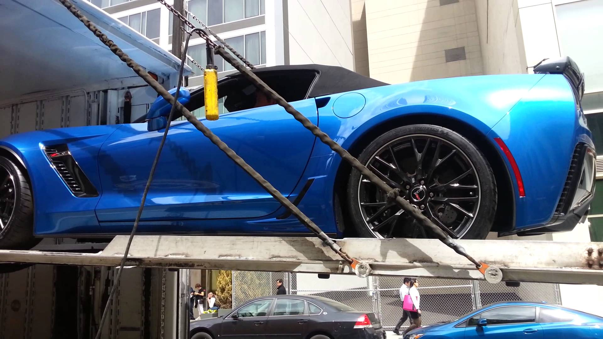 2015 Stingray Corvette Z06 Convertible NYC