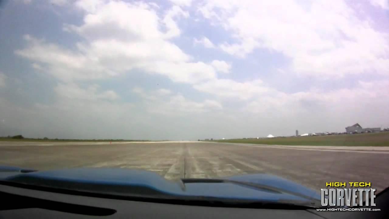 231mph TT Corvette – The Texas Mile – May 2011