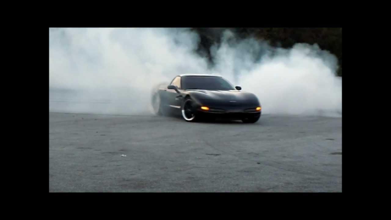 700hp C5 Corvette Burnouts