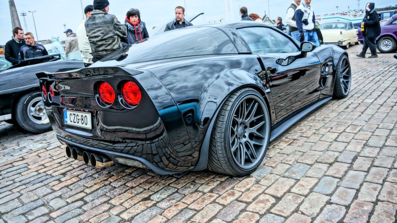 700hp ZR6X Extreme Wide Body Corvette C6 – SOUND!