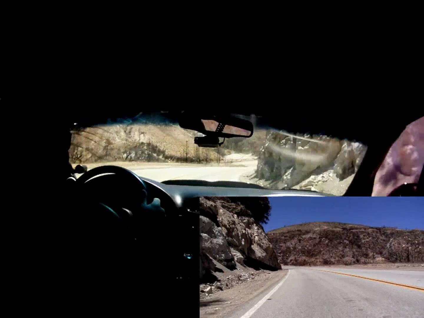 800+ RWHP Supercharged Corvette takes a nice canyon run!