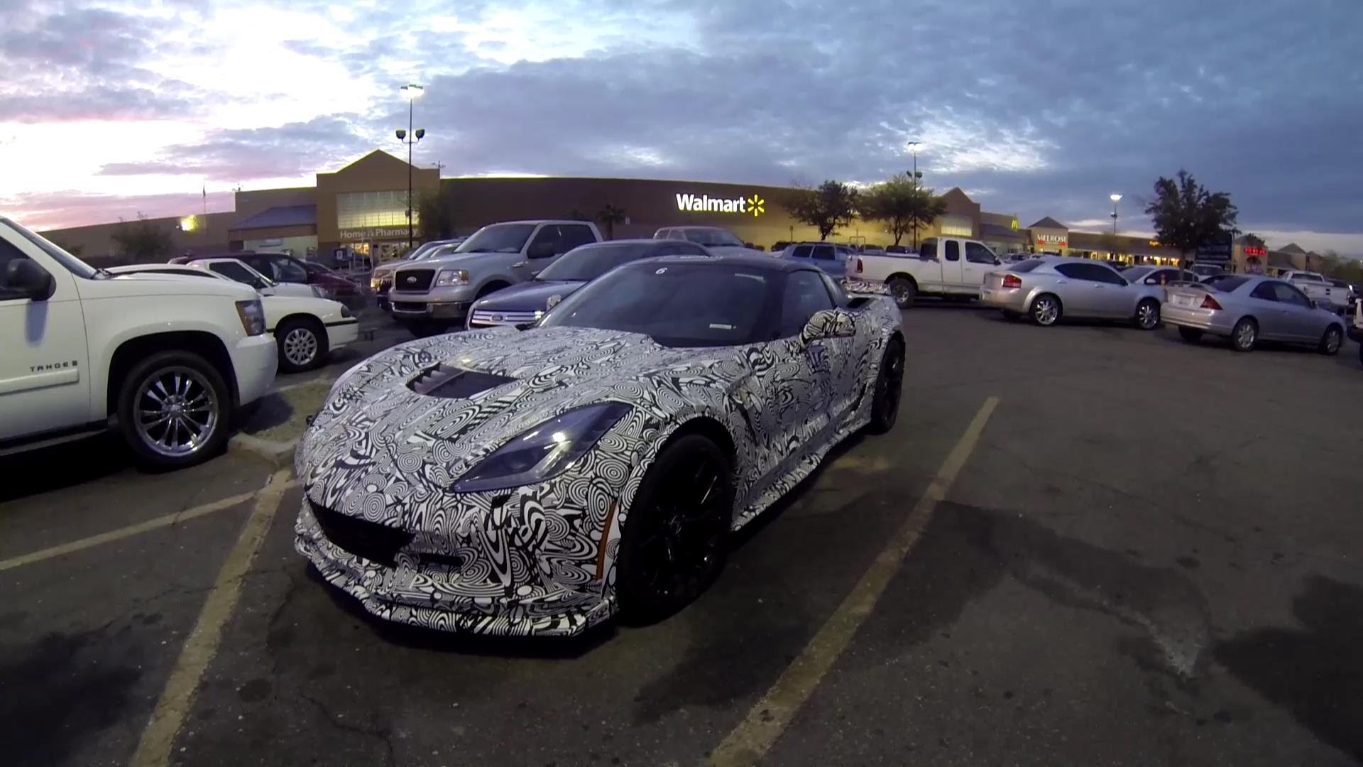A 2015 Corvette Z06 Prototype Just Hanging Out At Walmart