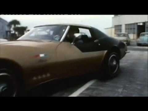 Astronaut Alan Bean drives his old Corvette again